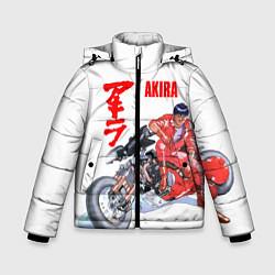 Куртка зимняя для мальчика AKIRA цвета 3D-черный — фото 1