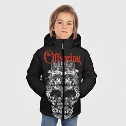 Куртка зимняя для мальчика Offspring цвета 3D-черный — фото 2