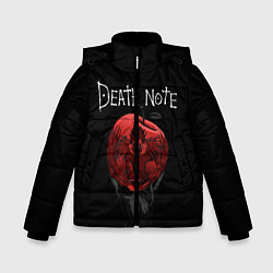 Куртка зимняя для мальчика DEATH NOTE цвета 3D-черный — фото 1