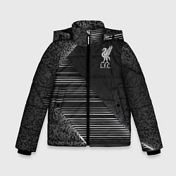 Куртка зимняя для мальчика Liverpool F C цвета 3D-черный — фото 1