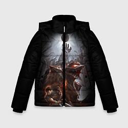 Куртка зимняя для мальчика BERSERK цвета 3D-черный — фото 1