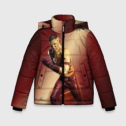 Куртка зимняя для мальчика Wally West цвета 3D-черный — фото 1