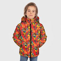 Куртка зимняя для мальчика Росомаха цвета 3D-черный — фото 2