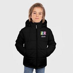 Детская зимняя куртка для мальчика с принтом Dream, цвет: 3D-черный, артикул: 10222002706063 — фото 2