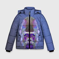 Куртка зимняя для мальчика Kong цвета 3D-черный — фото 1