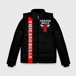 Куртка зимняя для мальчика CHICAGO BULLS цвета 3D-черный — фото 1
