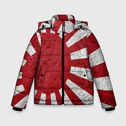 Куртка зимняя для мальчика ЯПОНИЯ ГРАНЖ цвета 3D-черный — фото 1