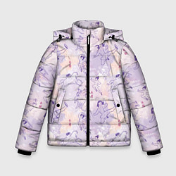 Куртка зимняя для мальчика Fa Ping Pattern цвета 3D-черный — фото 1