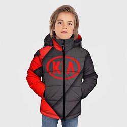 Детская зимняя куртка для мальчика с принтом KIA, цвет: 3D-черный, артикул: 10249654306063 — фото 2