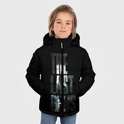 Куртка зимняя для мальчика The Last of Us 2 цвета 3D-черный — фото 2