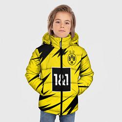 Куртка зимняя для мальчика HAALAND Borussia Dortmund цвета 3D-черный — фото 2