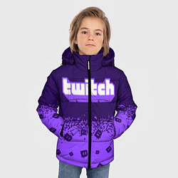 Куртка зимняя для мальчика TWITCH ТВИЧ - фото 2
