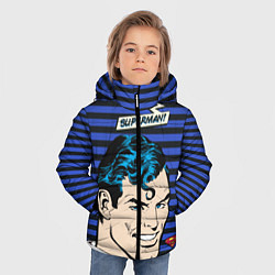 Куртка зимняя для мальчика Superman! - фото 2