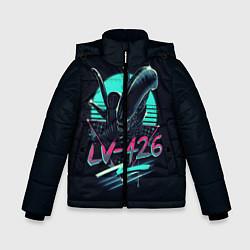 Куртка зимняя для мальчика The Alien цвета 3D-черный — фото 1
