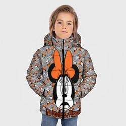 Детская зимняя куртка для мальчика с принтом No spoilers , please!, цвет: 3D-черный, артикул: 10261225106063 — фото 2