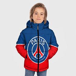 Куртка зимняя для мальчика FC PSG цвета 3D-черный — фото 2