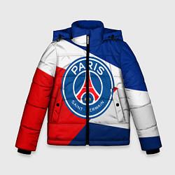 Куртка зимняя для мальчика PSG EXLUSIVE цвета 3D-черный — фото 1