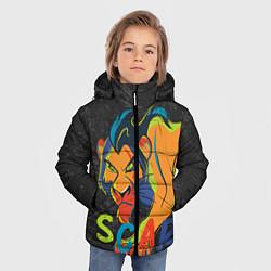 Куртка зимняя для мальчика Scar: The Lion King цвета 3D-черный — фото 2