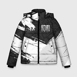 Куртка зимняя для мальчика KIZARU КИЗАРУ цвета 3D-черный — фото 1