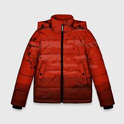 Куртка зимняя для мальчика Сакура цвета 3D-черный — фото 1