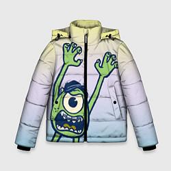 Куртка зимняя для мальчика Майк Вазовски цвета 3D-черный — фото 1