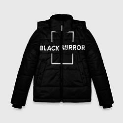Куртка зимняя для мальчика ЧЕРНОЕ ЗЕРКАЛО цвета 3D-черный — фото 1
