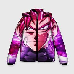 Куртка зимняя для мальчика Super Saiyan Rose цвета 3D-черный — фото 1