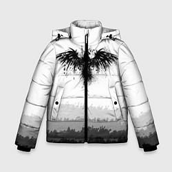 Куртка зимняя для мальчика ЧЁРНЫЙ ВОРОН цвета 3D-черный — фото 1