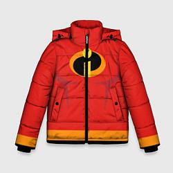 Куртка зимняя для мальчика Суперсемейка м цвета 3D-черный — фото 1