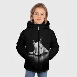 Куртка зимняя для мальчика Puppy цвета 3D-черный — фото 2