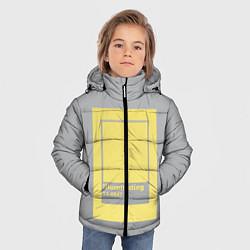 Куртка зимняя для мальчика Illuminating 13-0647 цвета 3D-черный — фото 2