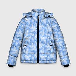 Куртка зимняя для мальчика Новый Год цвета 3D-черный — фото 1