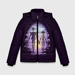 Куртка зимняя для мальчика Dont Starve цвета 3D-черный — фото 1