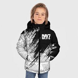 Детская зимняя куртка для мальчика с принтом DayZ, цвет: 3D-черный, артикул: 10287262506063 — фото 2