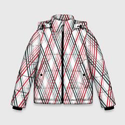 Куртка зимняя для мальчика Игральные карты цвета 3D-черный — фото 1
