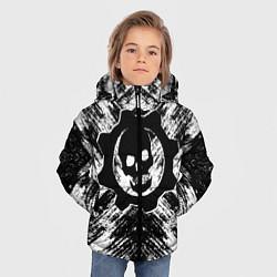Куртка зимняя для мальчика GEARS OF WAR цвета 3D-черный — фото 2