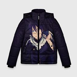 Куртка зимняя для мальчика Ято Бездомный бог цвета 3D-черный — фото 1