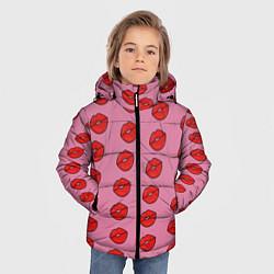 Куртка зимняя для мальчика Губки цвета 3D-черный — фото 2