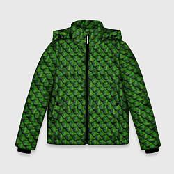 Куртка зимняя для мальчика Reptile Scales цвета 3D-черный — фото 1