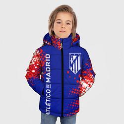 Куртка зимняя для мальчика ATLETICO DE MADRID АТЛЕТИКО цвета 3D-черный — фото 2