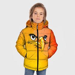 Куртка зимняя для мальчика Орёл 3d цвета 3D-черный — фото 2