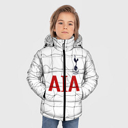Куртка зимняя для мальчика Тоттенхем Лондон цвета 3D-черный — фото 2