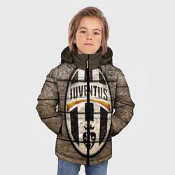 Детская зимняя куртка для мальчика с принтом Juventus, цвет: 3D-черный, артикул: 10063903706063 — фото 2