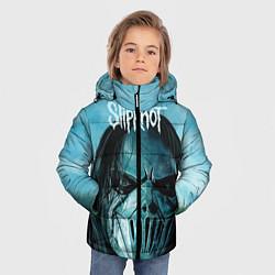 Куртка зимняя для мальчика Slipknot цвета 3D-черный — фото 2