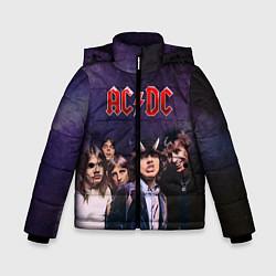 Куртка зимняя для мальчика AC/DC цвета 3D-черный — фото 1
