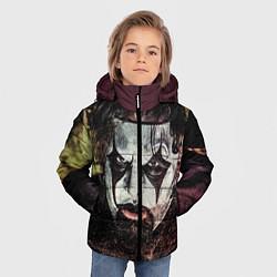Куртка зимняя для мальчика Slipknot Face цвета 3D-черный — фото 2