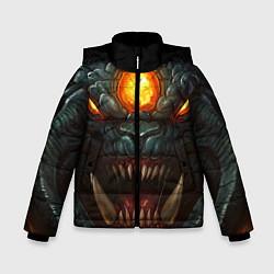 Куртка зимняя для мальчика Roshan Rage цвета 3D-черный — фото 1