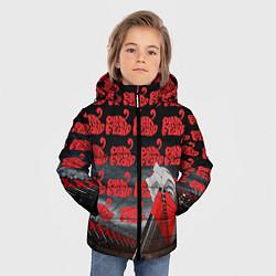 Куртка зимняя для мальчика Pink Floyd Pattern цвета 3D-черный — фото 2
