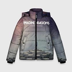 Куртка зимняя для мальчика Imagine Dragons: Night Visions цвета 3D-черный — фото 1