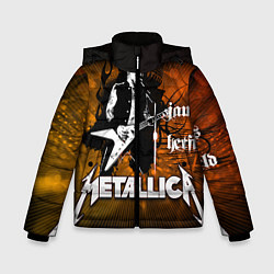 Куртка зимняя для мальчика Metallica: James Hetfield - фото 1